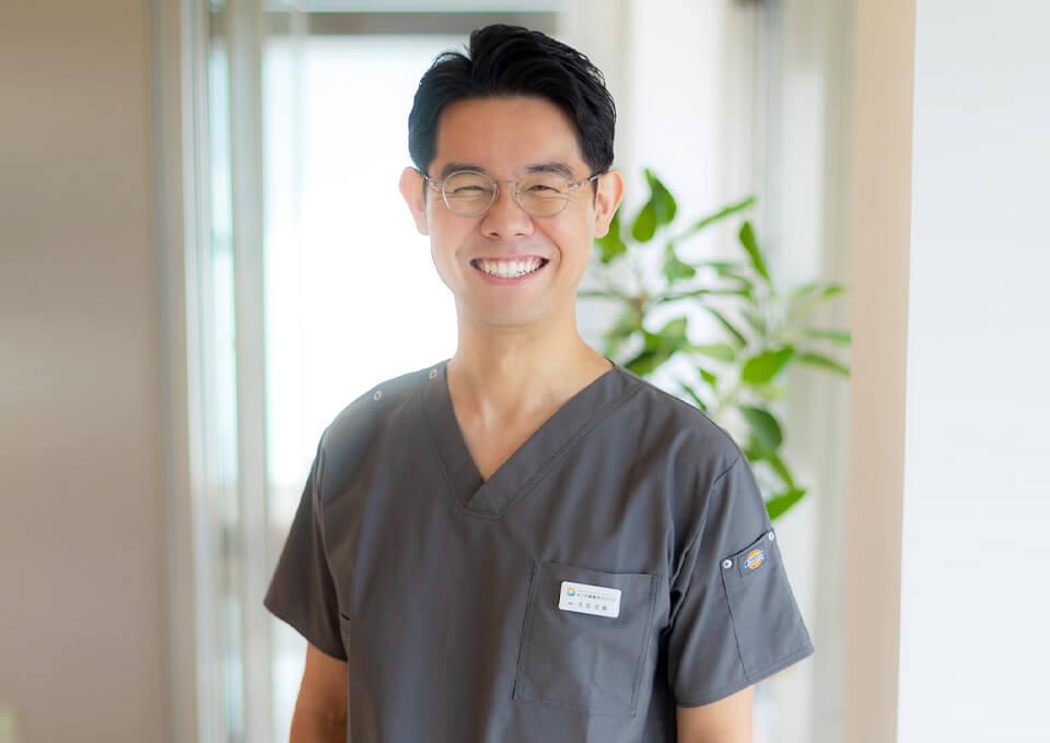 笑顔の丸田先生
